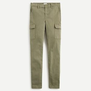 J. Crew High-rise Skinny Washed Cargo Pant